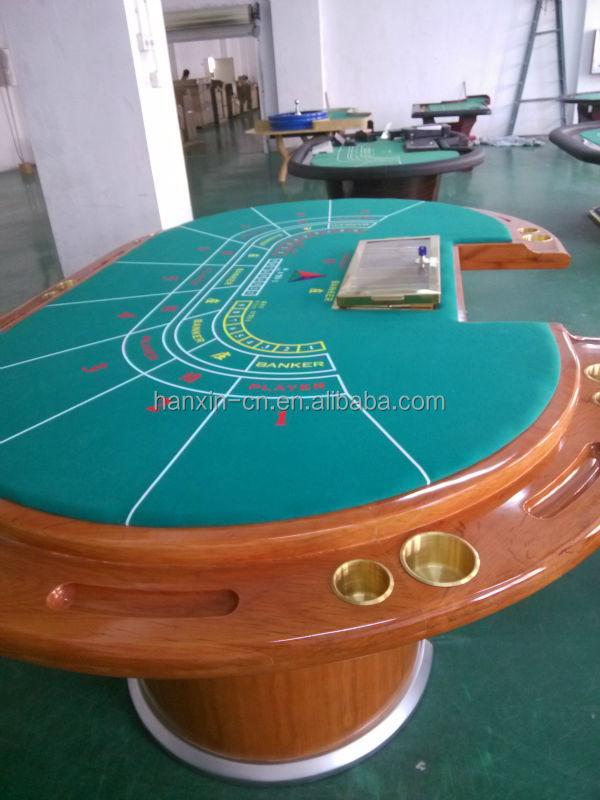 professionelle 9 spieler baccarat poker tisch mit filz tischdecke bild wettetisch produkt id. Black Bedroom Furniture Sets. Home Design Ideas