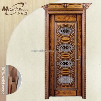 Prehung Wood Exterior Doors Craftsman 6 Lite Knotty Alder Wood