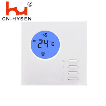 Cheap Price Small LCD Button Air Conditioning Room Thermostat Simple Operation