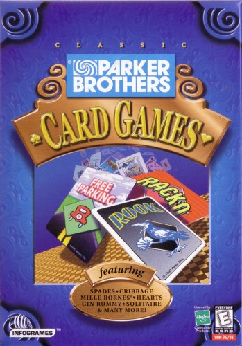 Parker Brothers Card Games: Racko, Free Parking, Rook - PC