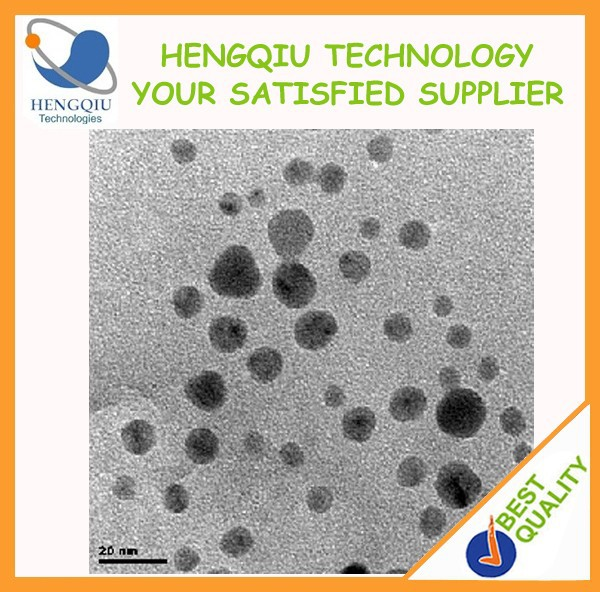 China Supplier Silver Nanoparticles 20nm Antibacterial Nano Silver Powder