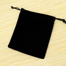 Free Shipping High Quality 15x20cm 20PCs/lot Black Velvet Bags Jewelry Accessories Bracelet Watch Packaging Gift Bag