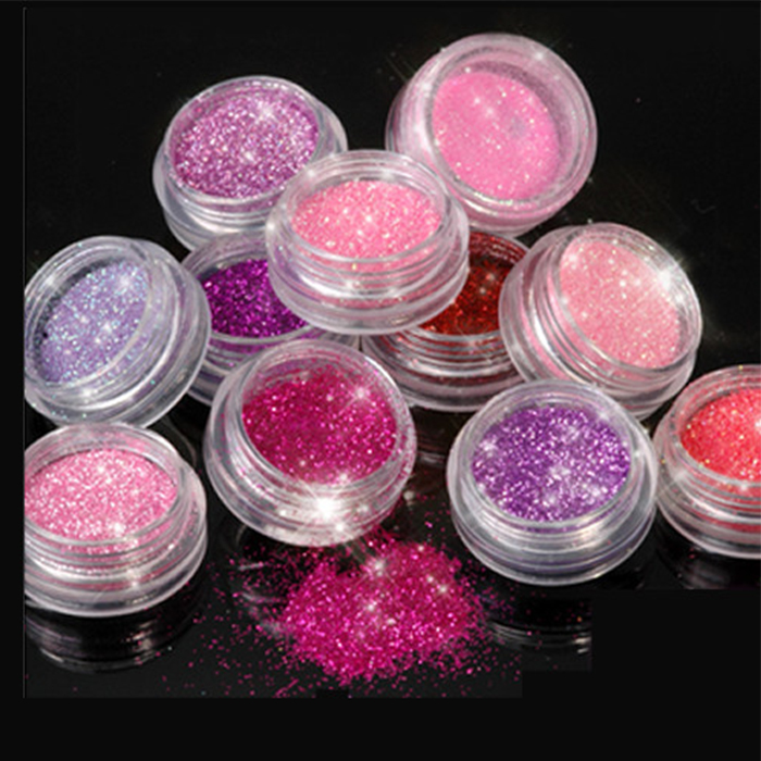 New china products for sale Glitter Powder Jars For Party Decoration