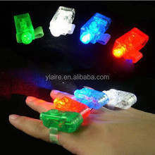 Christmas gift flashing led finger ring light