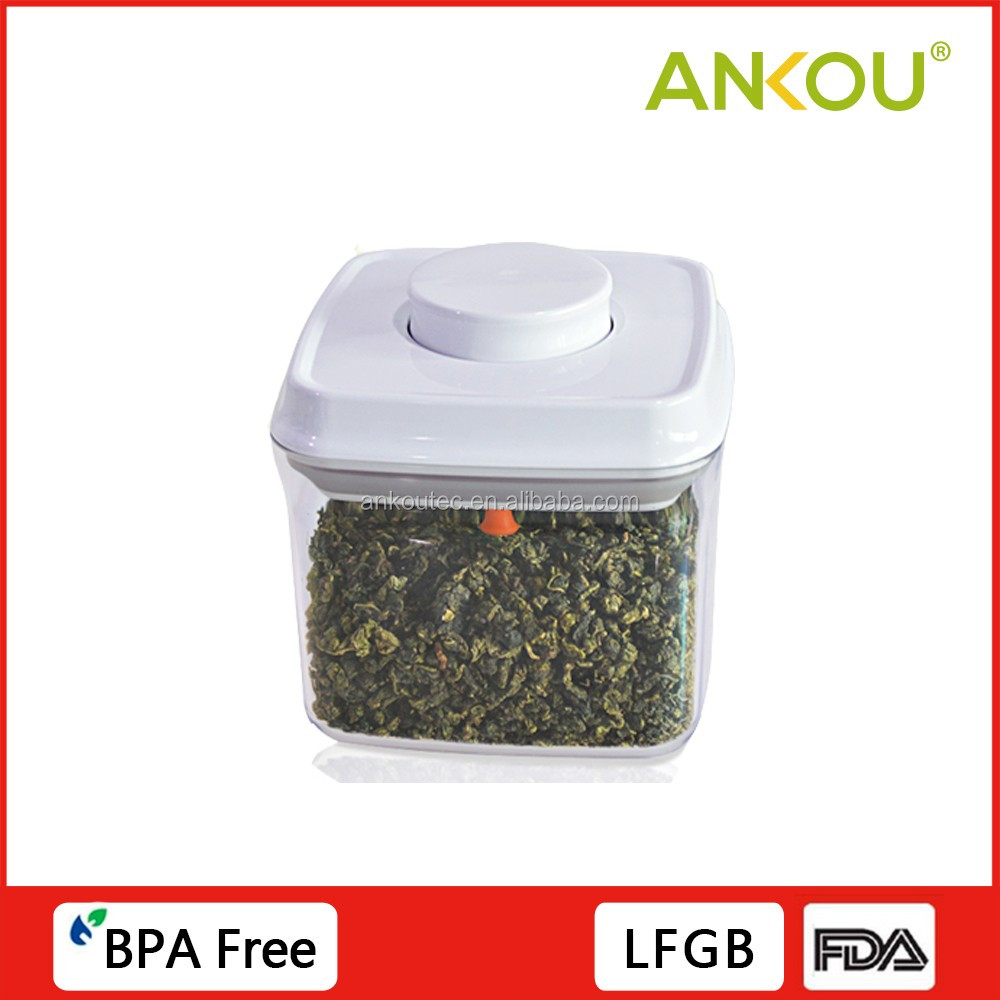 29OZ/0.9QT/850ML AS <strong>plastic</strong> FDA approved and BPA free multi-functional <strong>plastic</strong> take away canister square shape