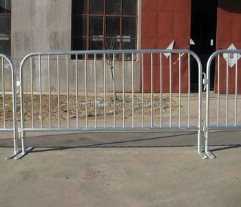 Bike Rack Style Steel Event Barriers Tubular Road Bar