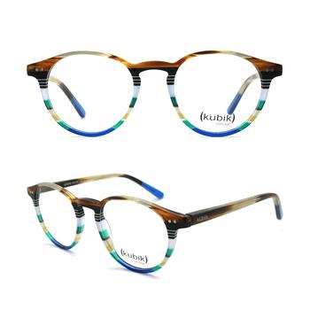 4f19b14b08 KK3008 Fashion Latest Italy Design Retro Round Glasses Acetate Optical Eyeglass  Frames Eye Glass Italian Eyewear