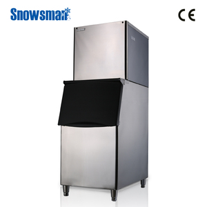 Auto-Detection System 350kg industrial crushed/cube ice machine