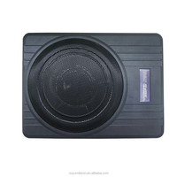 cheap car active subwoofer with amplifier for online sale