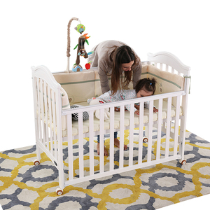 High quality new design baby crib with EU standred