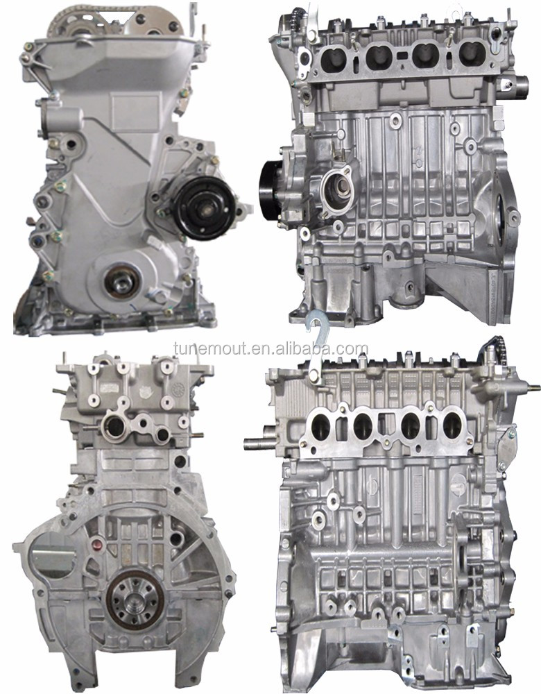 Toyota 1zz Fe Long Block And Short Block Engine For