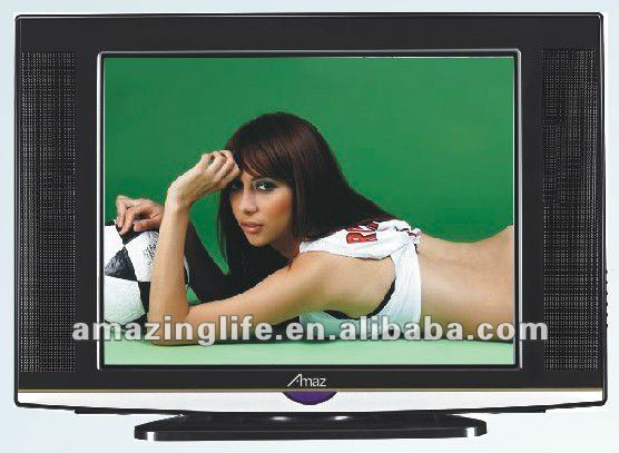 21 inch ultra slim crt with rotating base