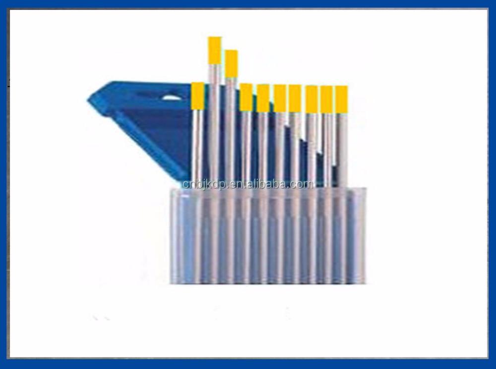 Wt10 Tungsten Electrode Tig Welding Rod (color Code