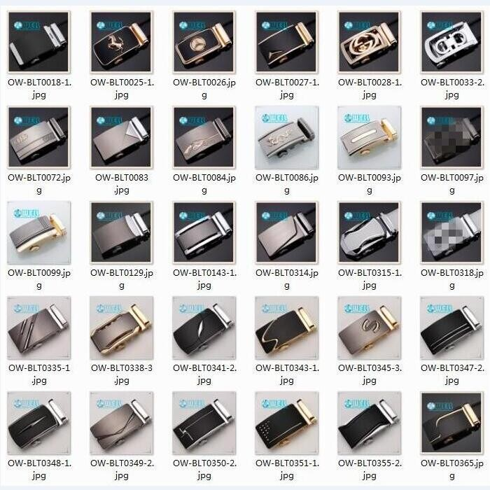 Customize Automatic Alloy Metal Buckle Belt Reversible Pin Buckles ...