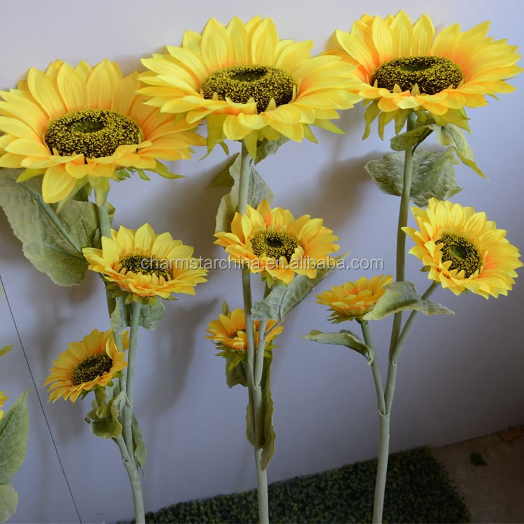 Artificial Sunflower Large Artificial Flowers Home Decorative Flower Hotel Decorative