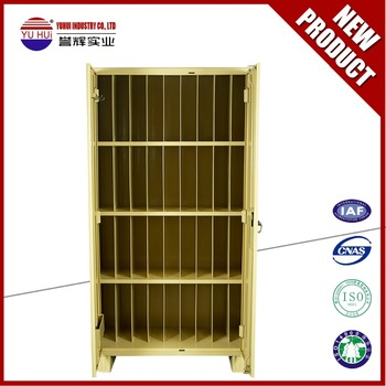 Beige Coating 32 Box File Cabinet , Steel Almirah For Office Indian  Furniture