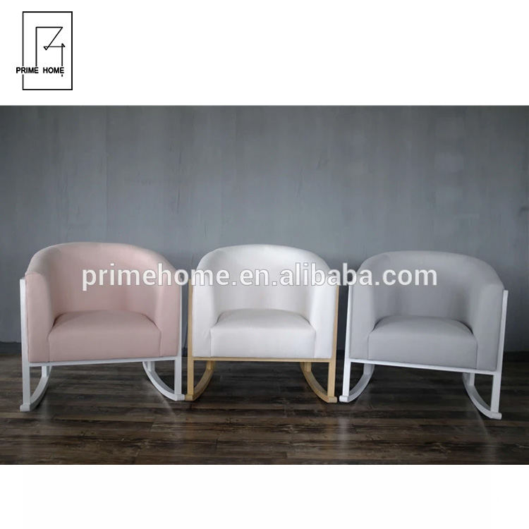 Astounding New Design Hampton Style Oak Wood Pink Linen Fabric Baby Rocking Chair For Nursery Buy Wooden Baby Rocking Chair Cheap Rocking Chairs For Ibusinesslaw Wood Chair Design Ideas Ibusinesslaworg