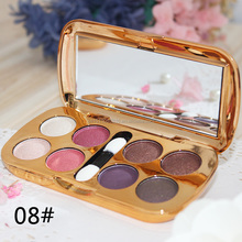 The red wine with eye shadow Makeup Palette Eyeshadow peach makeup nude make-up matte Pearl