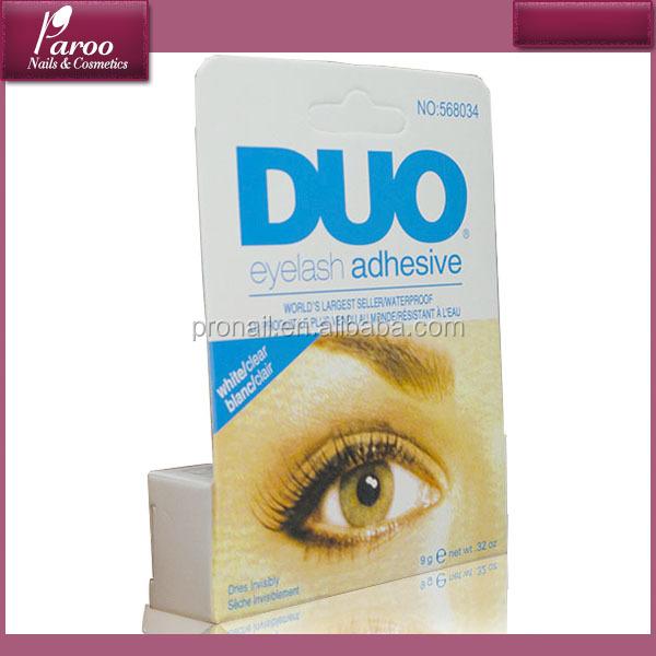 Freeshipping Clear And Black Water Proof Fake Eyelash Glue Adhesive