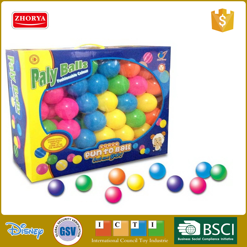 wholesale plastic soft swimming play pool ball