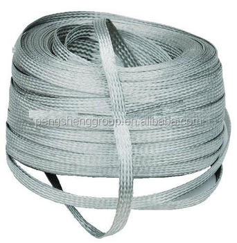 Bare Tinned Copper Braid Wire/copper Braided Wire Cable - Buy Tinned ...