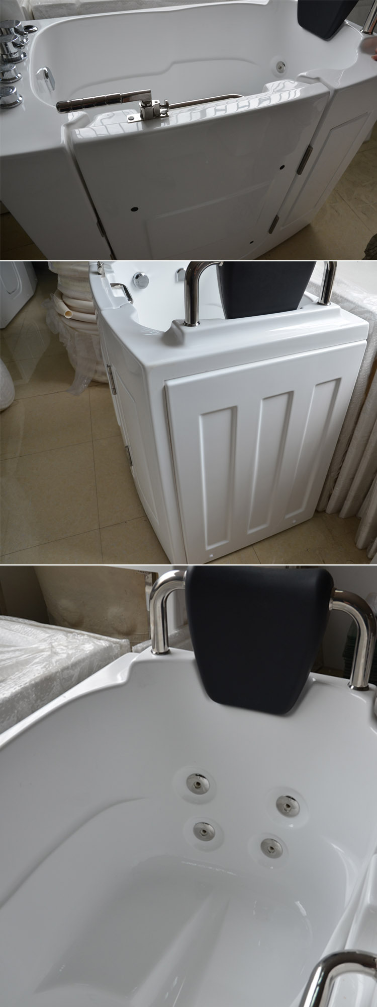 HS-1108 old bathtub sale, bathtub support for elder, bathtub with door price