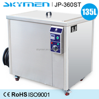Ultrasonic washing 135L engine parts cleaning machine for removing oil