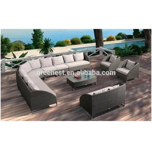 large outdoor garden sectional sets rattan american classic sofa