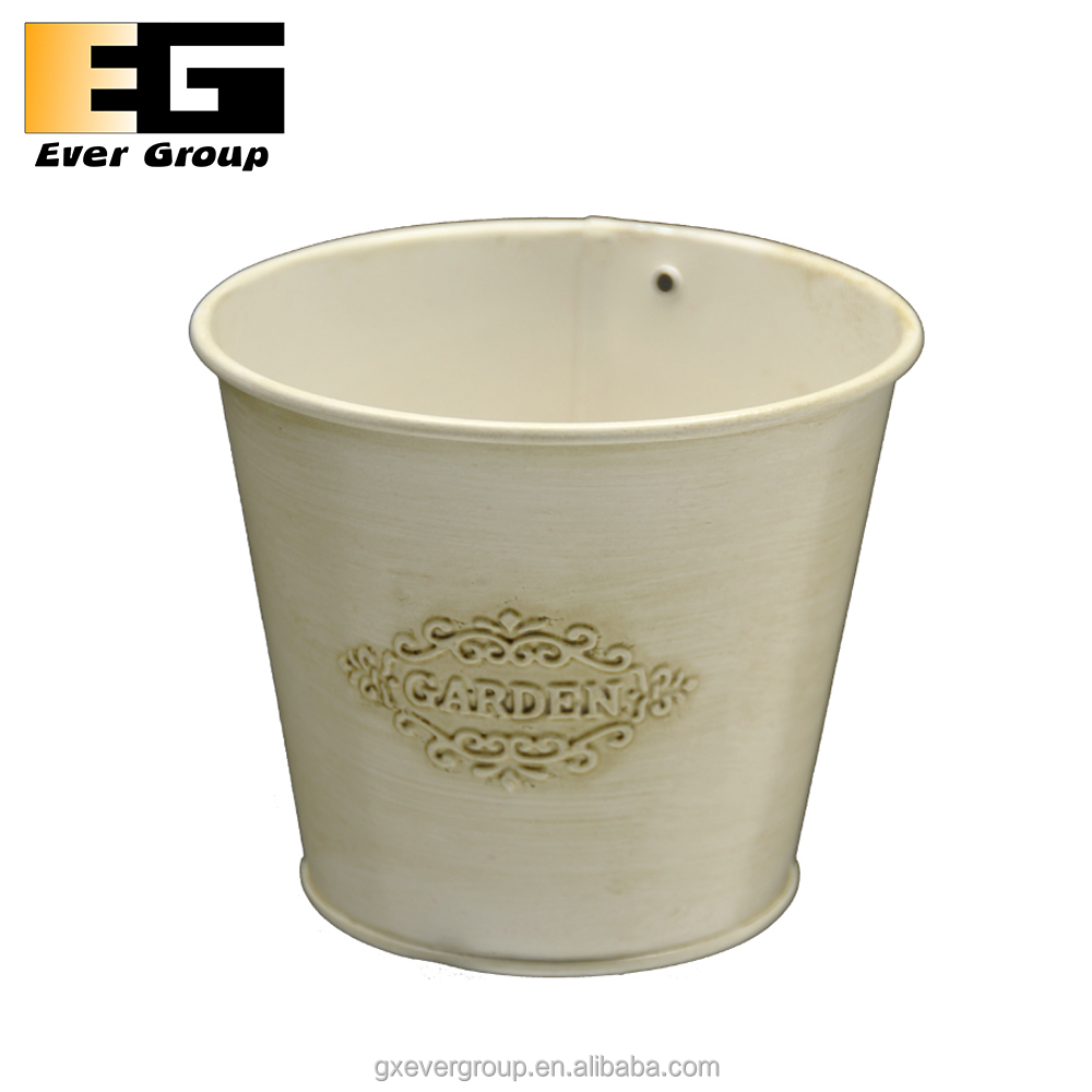 Metal Basket Bucket Planters Pot For Plant and Flower