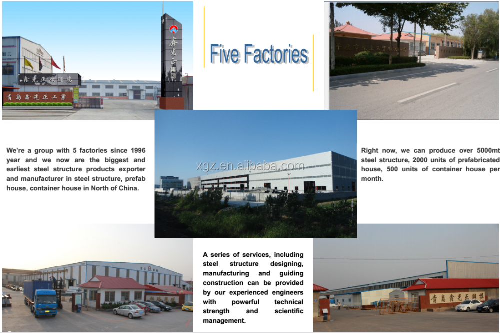 The high quality and low cost for steel structure warehouse