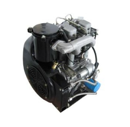 HDA20F Air Cooled 2 Cylinder 4 Stroke Diesel Engine for sale