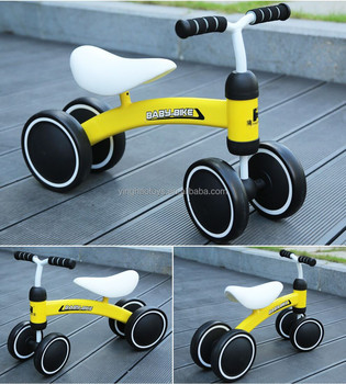 Hot sale whosale plastic metal baby push balance bike baby ride on push car