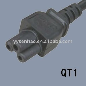 IEC320 C5 female power plug connector