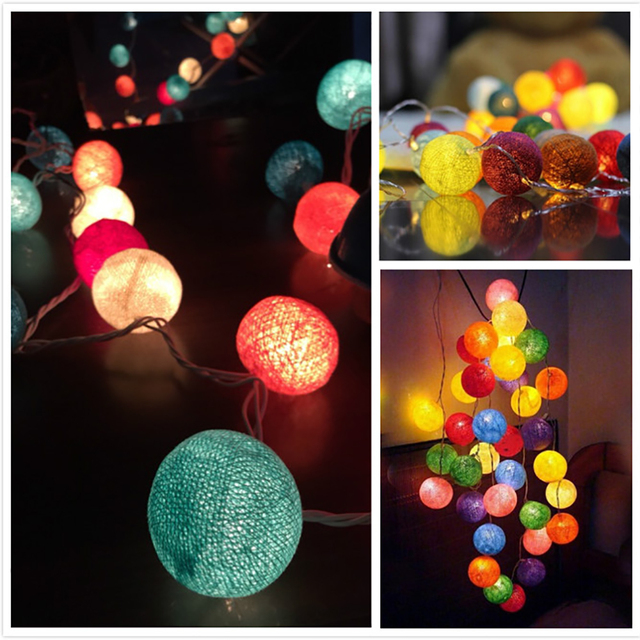 China outdoor novelty lights wholesale alibaba novelty cotton ball indoor outdoor led string lights with factory price by china manufacturer mozeypictures Choice Image