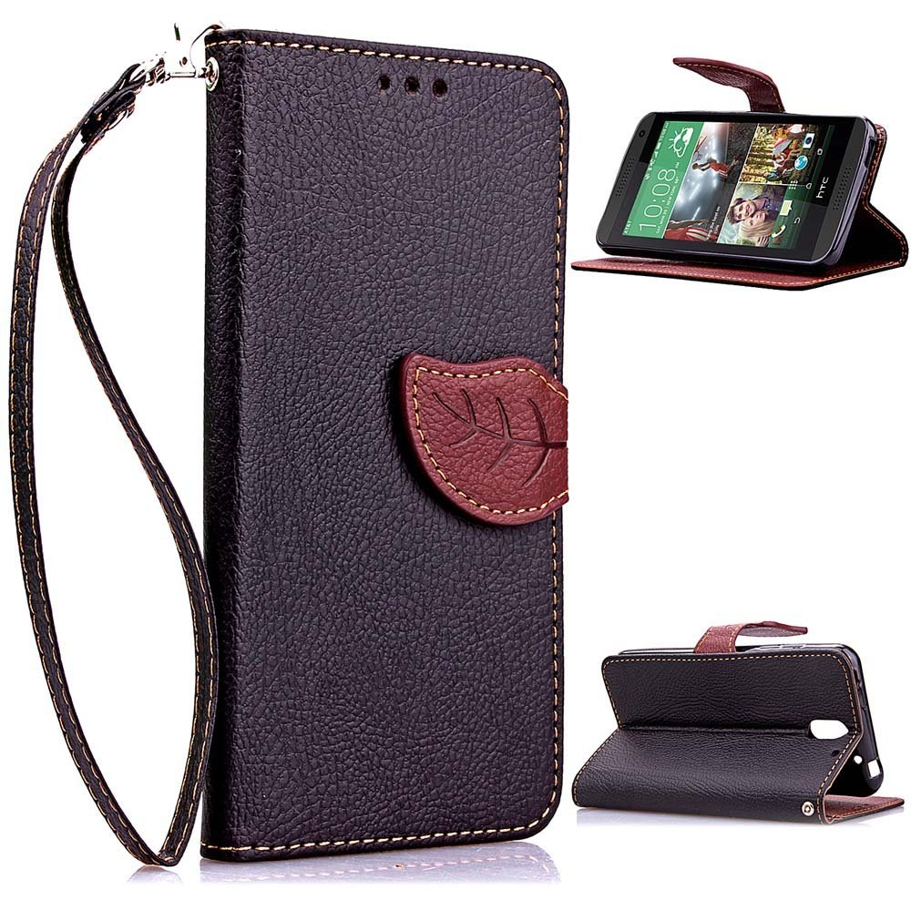 HTC Desire 610 Case,Candywe Case Cover For HTC Desire 610 Flip Wallet Leather Case Cover For HTC Desire 610 For Men For Women (Not Fit HTC Desire other Phone)