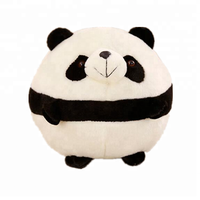 yangzhou good stuff animal baby toys plush cute fat round panda