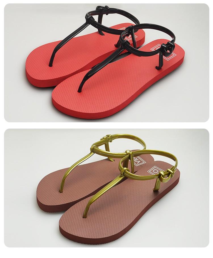 c601bc5d2b87c1 Wholesale Fashion Summer Flat Sandals Slippers Flip Flops Women For Ladies