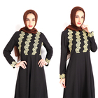 wholesale beautiful latest design islamic muslim women dress abaya for ladies