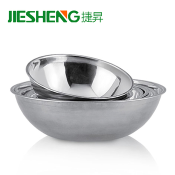 Bulk Item Mixing Bowl Large Soup Bowls Stainless Steel Soup Bowl