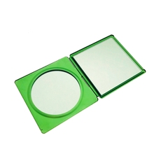 Small Fancy Hand Held Makeup Cosmetic Hand Held Compact Mirror For Craft Gift