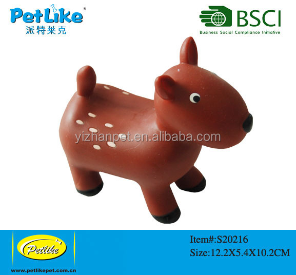 Charming Pet Latex Dog Toy Balloon, Horse, Large Vinyl Dog Toys China supplier online shopping designer home decor