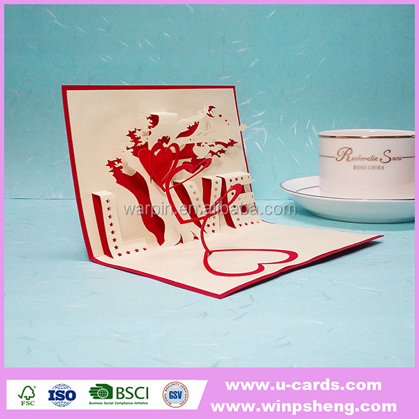 Stock for sale high quality handmade lovely laser cut cards