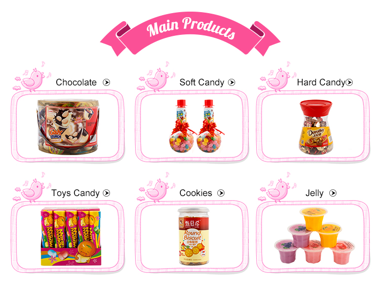Wholesale Sweet Snack Puff Cotton Candy Colored Marshmallow
