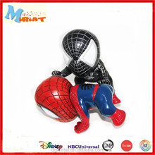 Promotional kids mini tpr stikeez figure capsule toys for spider-man