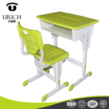 China manufacturer of plastic chair table kids study tables chair sets student chair desk