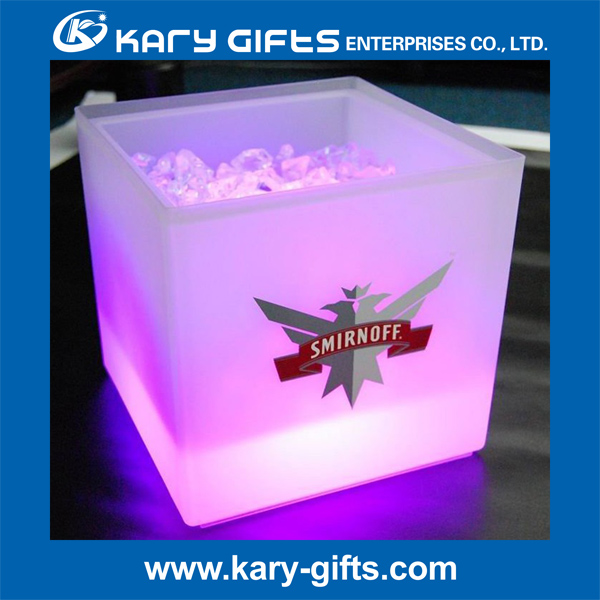 Cool! plastic illuminated ice coolers cheap led ice bucket