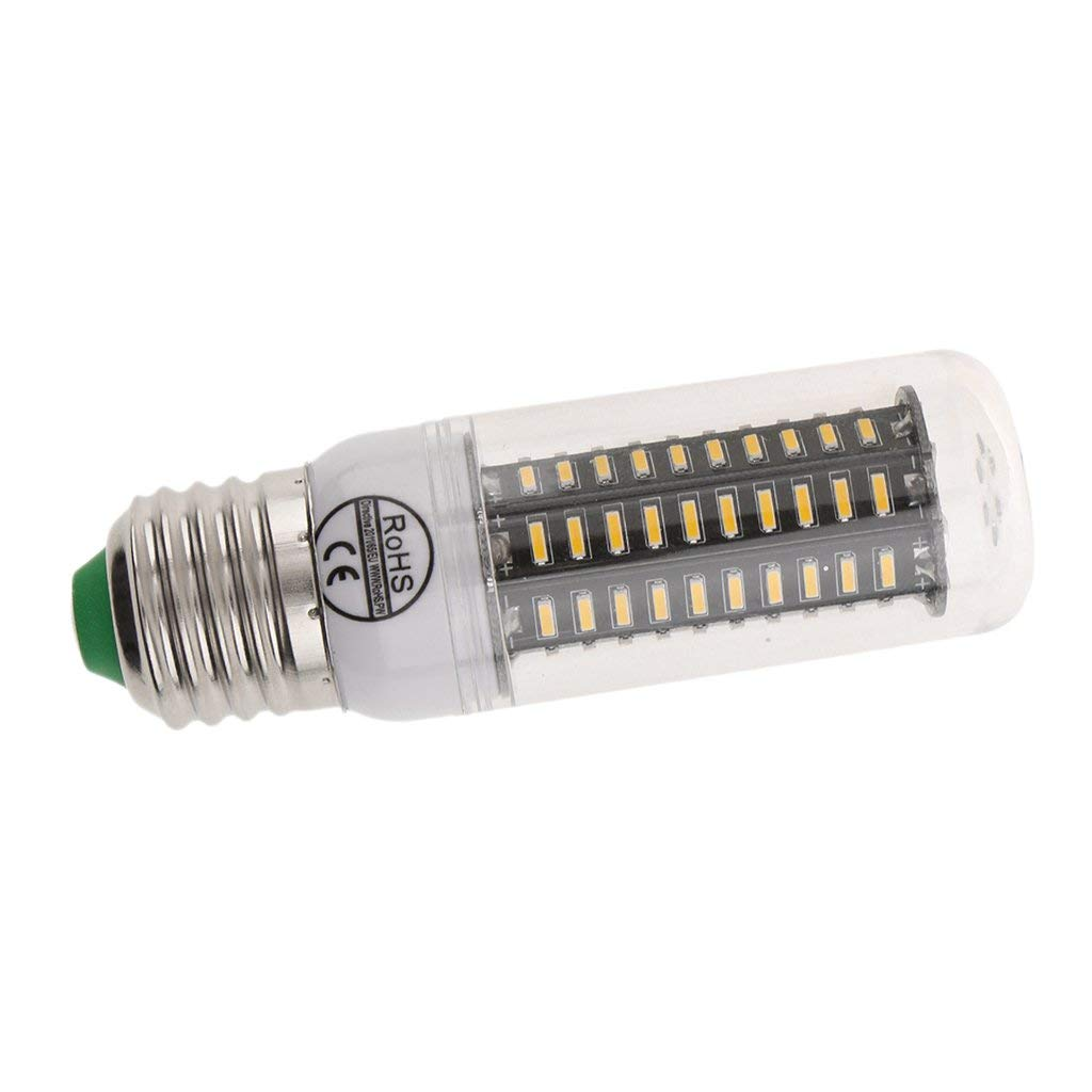 Fenteer White/Warm White LED Corn Light E27 Socket 78/88 SMD Light Bulb Spotlight Lamp Bulb AC 110V - Warm White_5W
