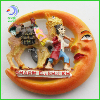 cheap custom souvenir decoration resin fridge magnet