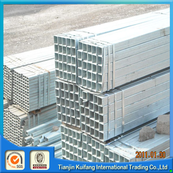 Multifunctional galvanized square steel pipe steel tube hollow section vietnam for wholesales