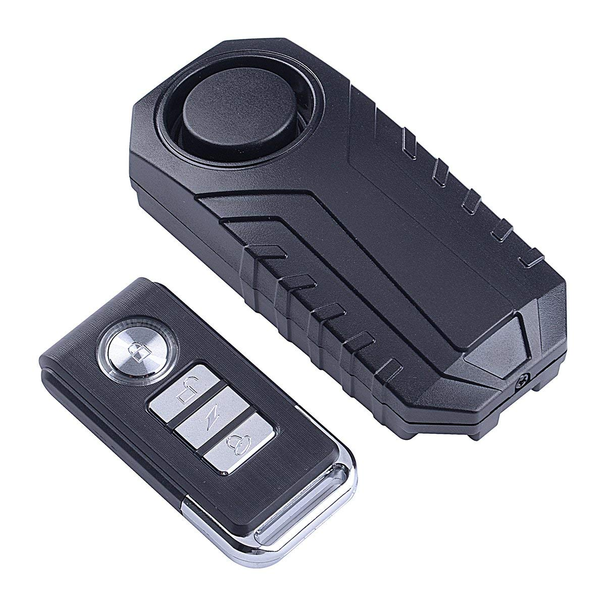 BS 113dB Wireless Anti-Theft Vibration Motorcycle Bicycle Alarm Waterproof Security Cycling Bike Alarm with Remote